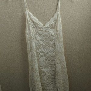 Victoria Secret lace chemise